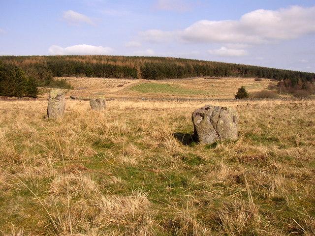 Threestone Burn stone circle