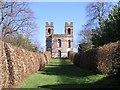 TQ1363 : Belvedere at Claremont Landscape Garden by Andy Potter