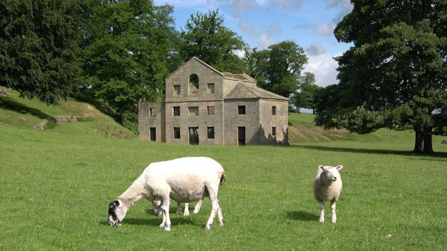 Chatsworth Park Estate — Corn Mill ruin