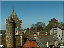 SX3384 : Launceston Castle by Andy Potter