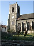 TL8683 : St Peter's church, Thetford by Stanley Howe