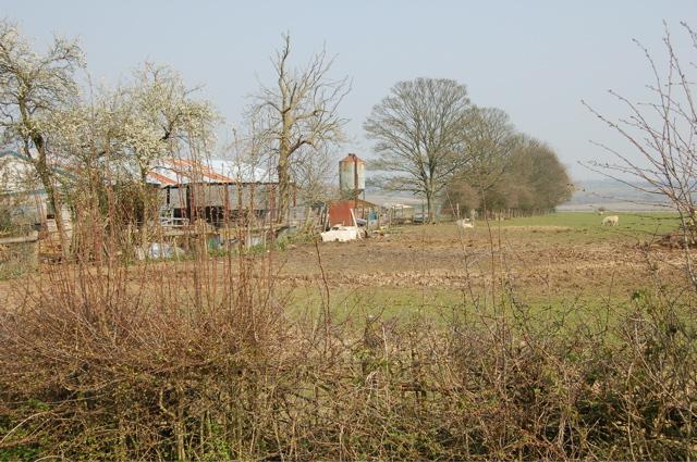 Down Hill Farm - farm buildings