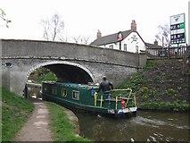 SJ8512 : Bridge 19 on the Shropshire Union by John M