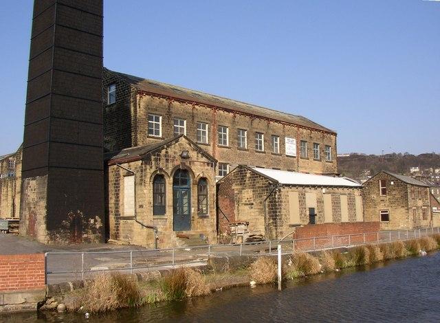 Mill off Whitley Street, Bingley