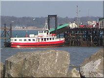 SU4208 : Hythe Pier Head by Gillian Thomas