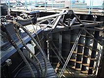 SU4208 : Hythe Marina Lock Hydraulics by Gillian Thomas