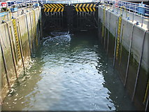 SU4208 : Hythe Marina Lock by Gillian Thomas