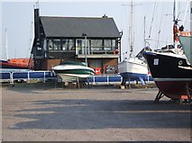 SU4208 : Hythe Marina Lock Control by Gillian Thomas