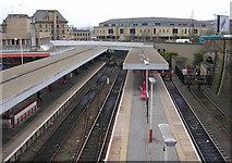 SE1632 : Bradford Interchange Railway Station by Betty Longbottom
