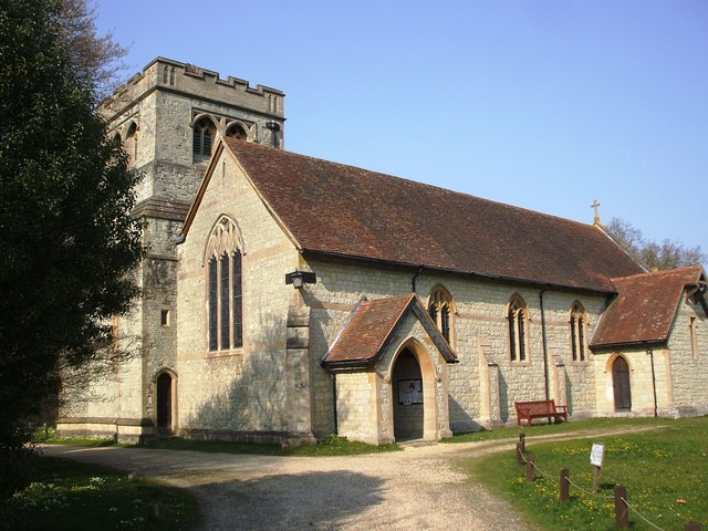Exbury Church - The Parish Church of St Katherine by Gillian Thomas