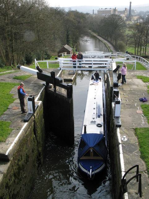 Bingley 5-rise Locks