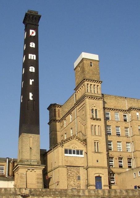 Detail of the Damart mill, Bingley