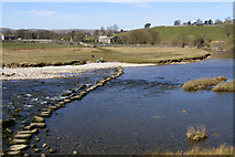 SE0063 : Stepping Stones to Linton Church. by mauldy