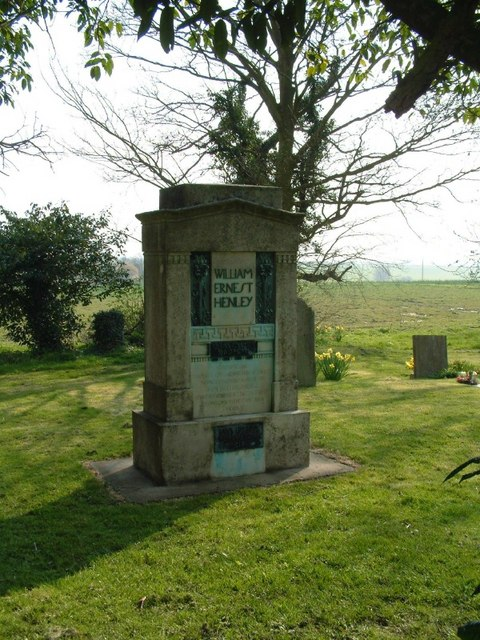 Monument to W E Henley