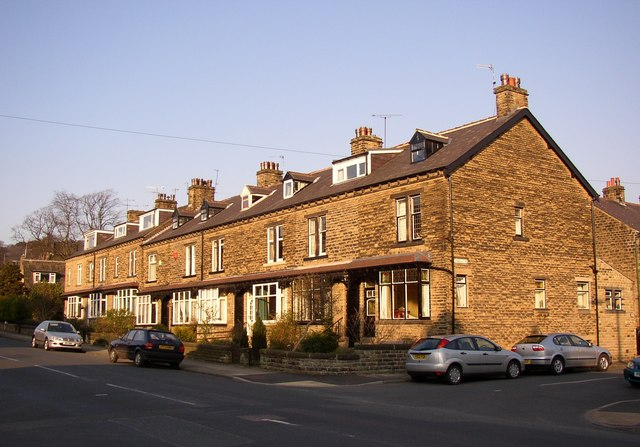 Terrace houses, Park Road, Bingley