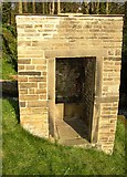 SE1039 : Privy(?) at the five-rise locks, Bingley by Humphrey Bolton