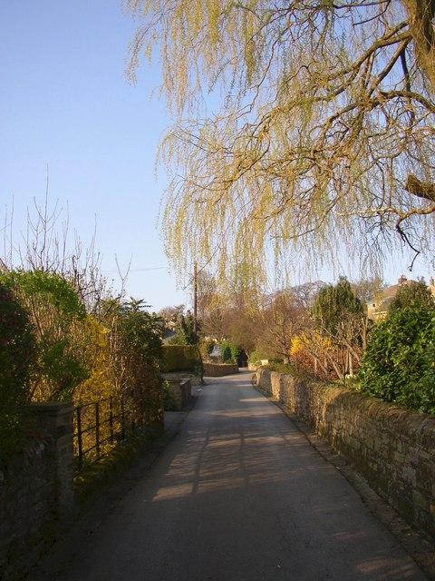 Footpath off Beck Lane, Bingley