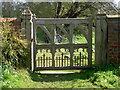 SE7038 : The gate to Aughton Church by stuart hartley
