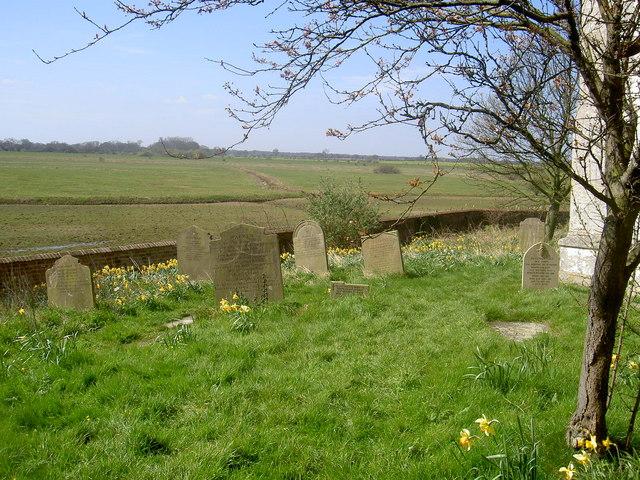 The Graveyard at Aughton Church