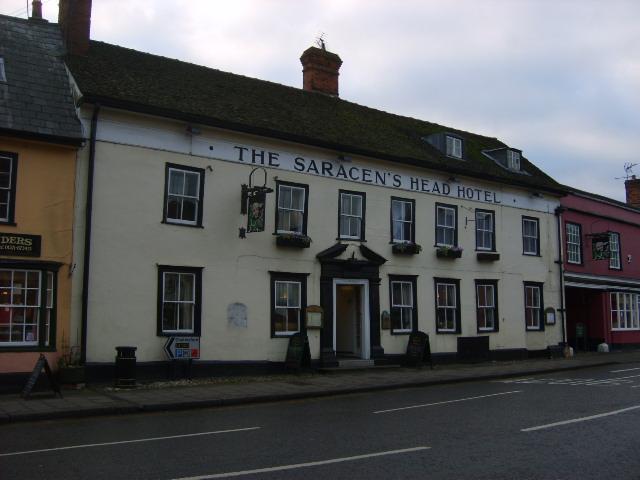 The Saracen's Head Hotel, Great Dunmow, Essex