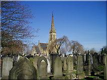 SJ7993 : Stretford Cemetery by R Greenhalgh