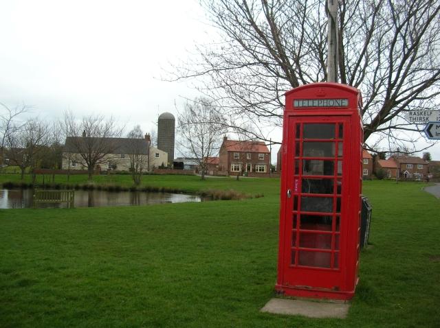 Tholthorpe phonebox
