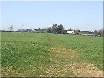 SP7065 : Bridleway across the wheat field by Jonathan Billinger
