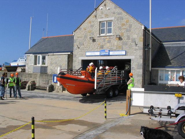 Lyme Regis RNLI Inshore Lifeboat station