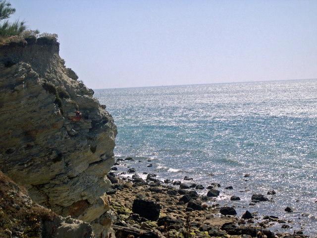 Cliff face, Binnel Bay
