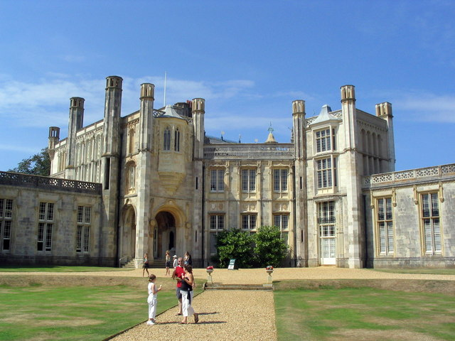 Highcliffe Castle and lawns