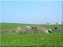 SW9980 : Building developments above Port Isaac by William Bartlett