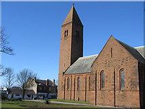 NS3525 : ST.  Nicholas Parish Church Prestwick by wfmillar