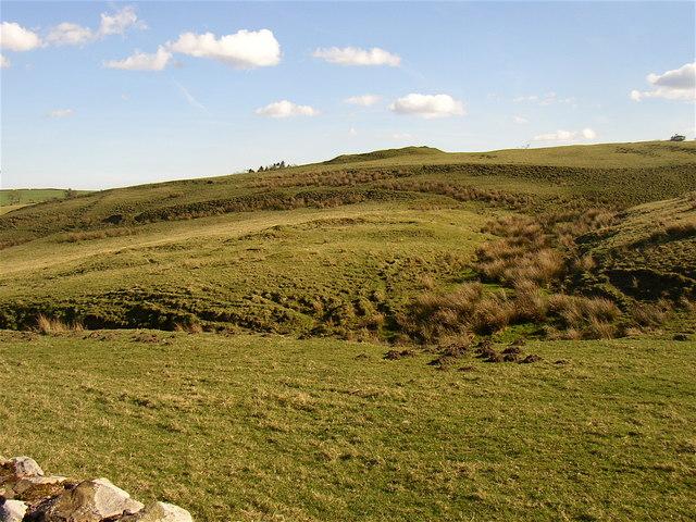 Site of ancient castle at Alnham