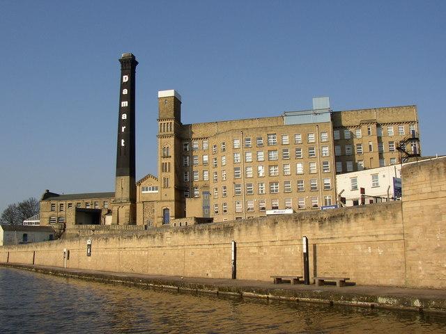 The Damart mill, Bingley