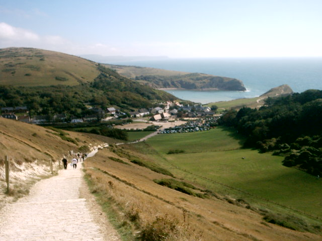 View of Lulworth Cove