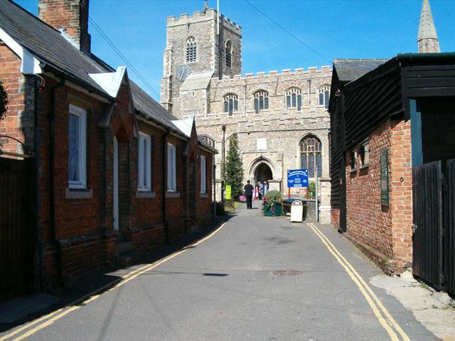 Clare Church from Church Street