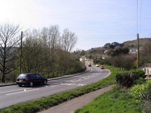 A35 near Morcombelake