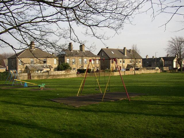 The King George V Park, Wakefield Road, Lightcliffe, Hipperholme