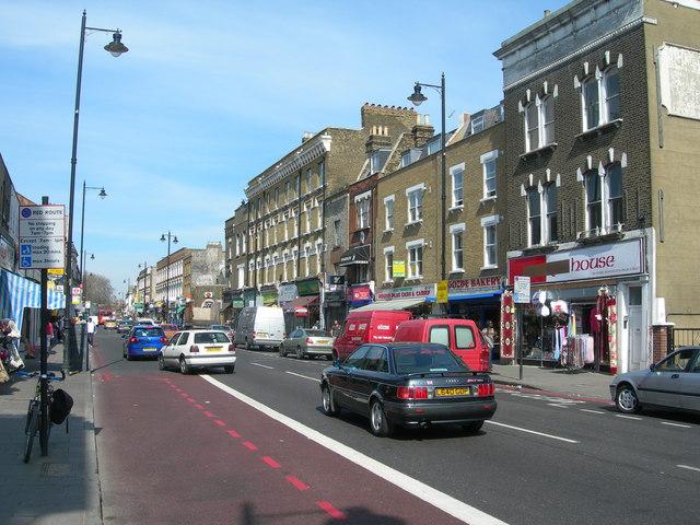 Stoke Newington High Street, N16