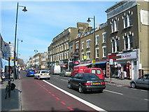 TQ3386 : Stoke Newington High Street, N16 by Danny P Robinson