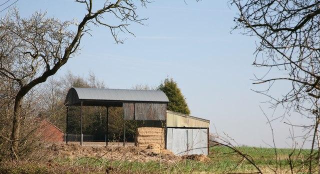 Barn near Thorneypits