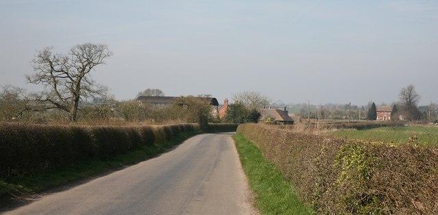 Country Lane at Park Heath