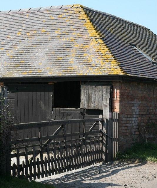 Farm building at Park Heath