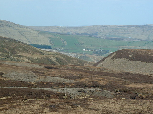 towards Reaps Dyke and Ruddle Clough