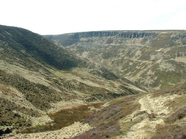 Ruddle Clough and Ramsden Rocks