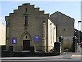 SE1531 : Horton Moravian Church - Little Horton Lane by Betty Longbottom
