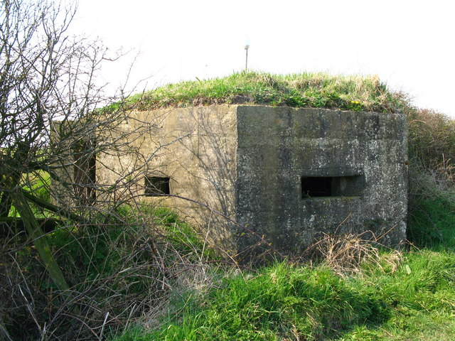 Pillbox, Earsdon, Northumberland