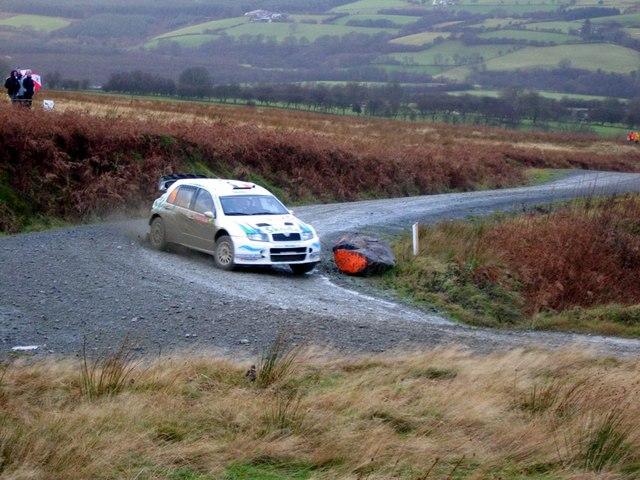 Motor Rallying on Epynt Ranges