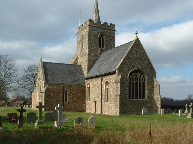 Thriplow Church from SE