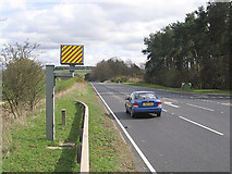 NT6226 : The A68 at Lilliardsedge by Walter Baxter